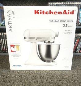 New in Box - KitchenAid Artisan Mini 3.5qt Mixer - White - KSM3311XFW