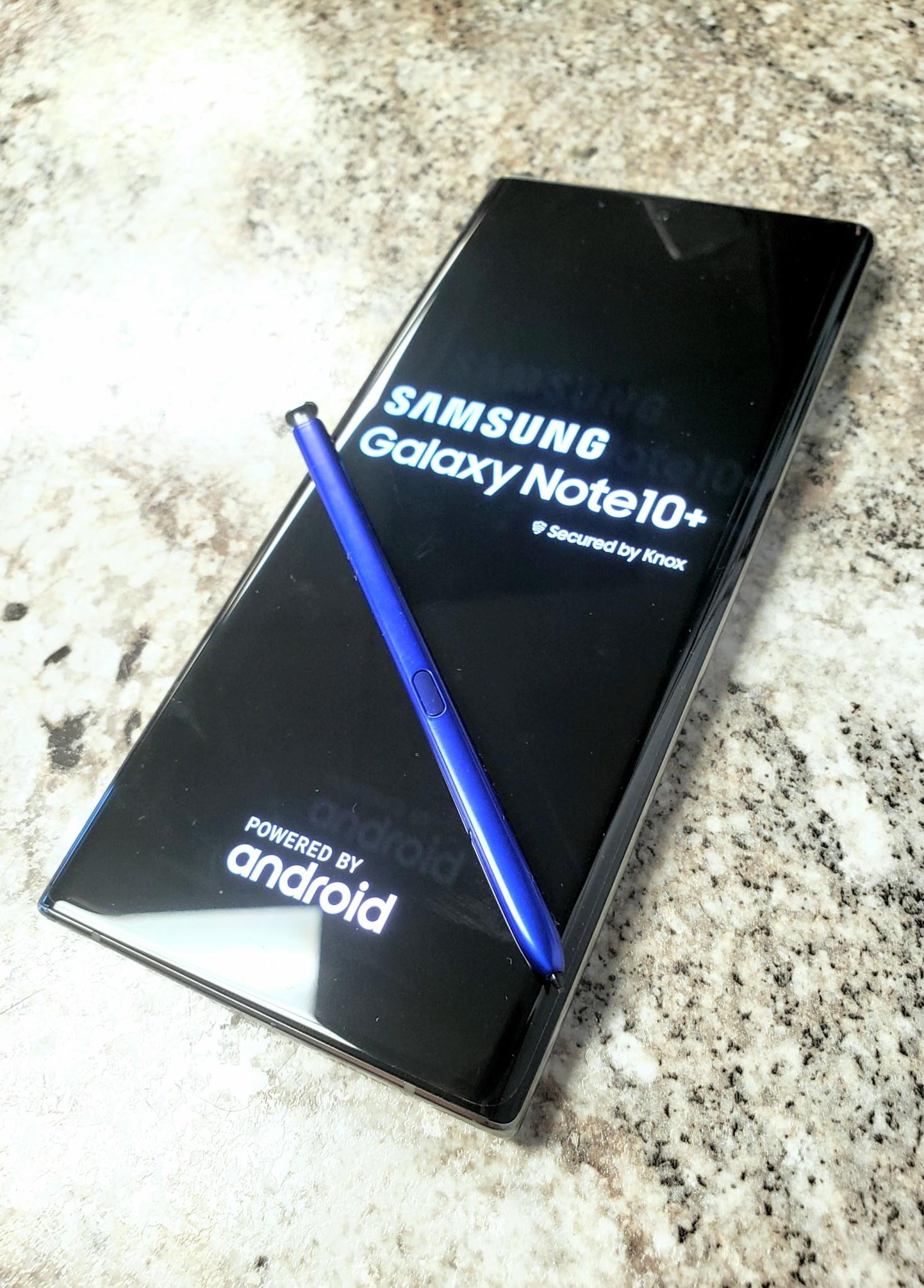 Unlocked - Samsung Galaxy Note 10+ (Plus) - 256GB - Aura Glow