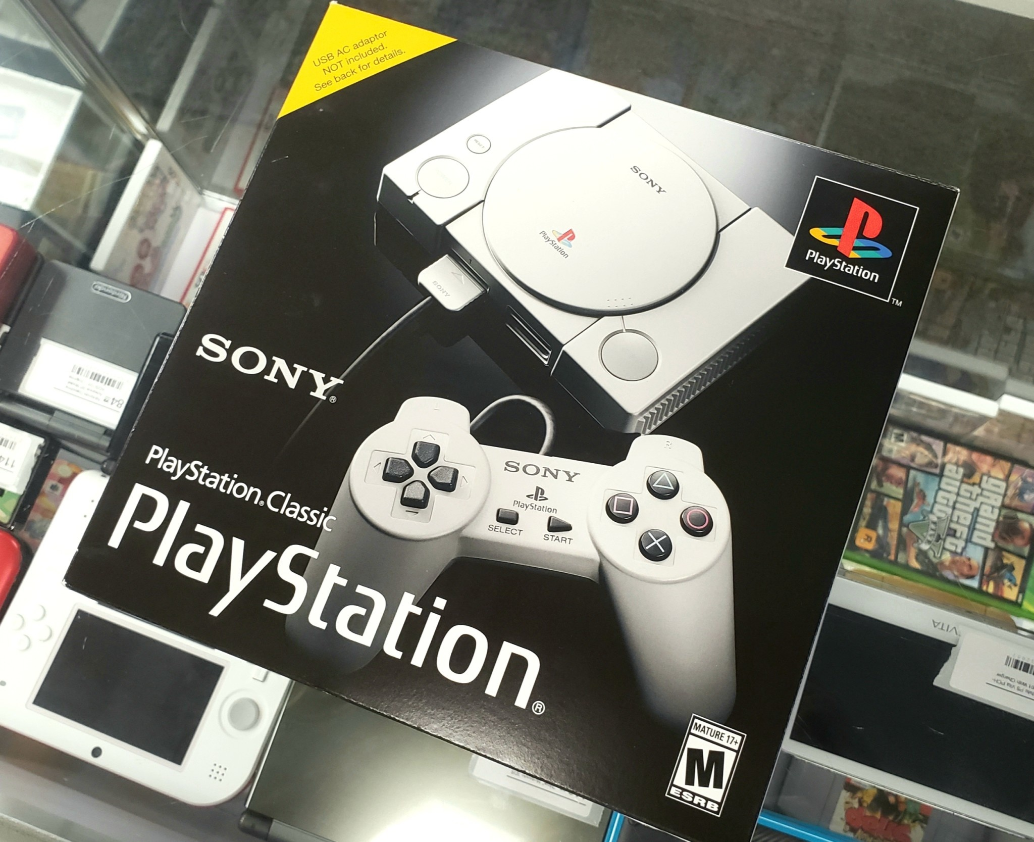 PlayStation Classic Pre-Loaded Console - Pre-Owned