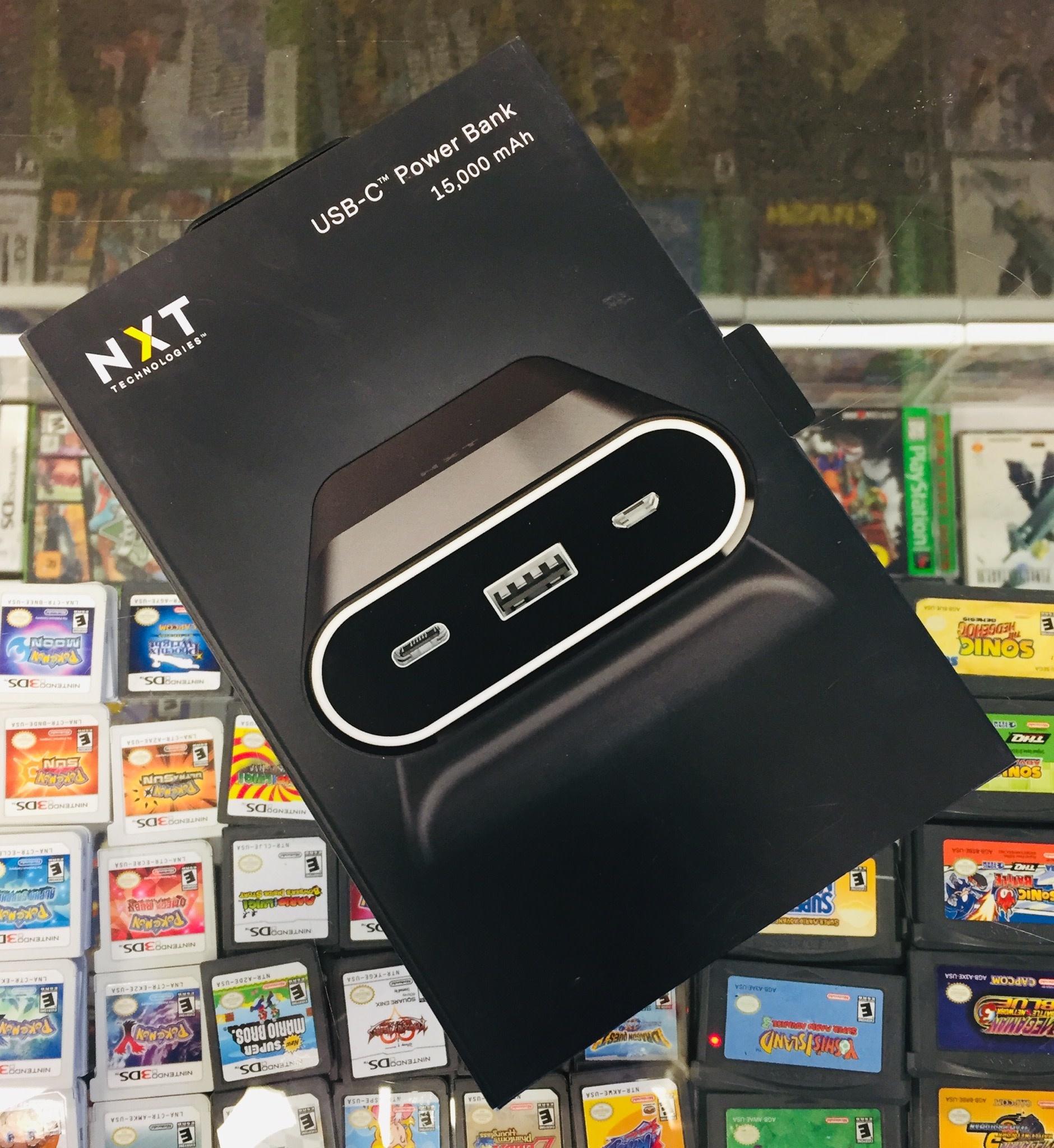 NXT Technologies 15000 mAh 2 USB Port PowerBank - Black