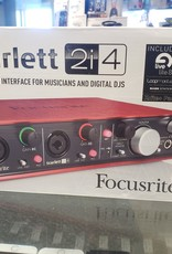 Focusrite Scarlett 2i4 Audio Interface - Pre-Owned