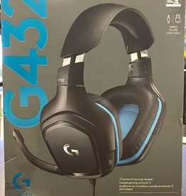 Logitech - G432 7.1 Surround Headset