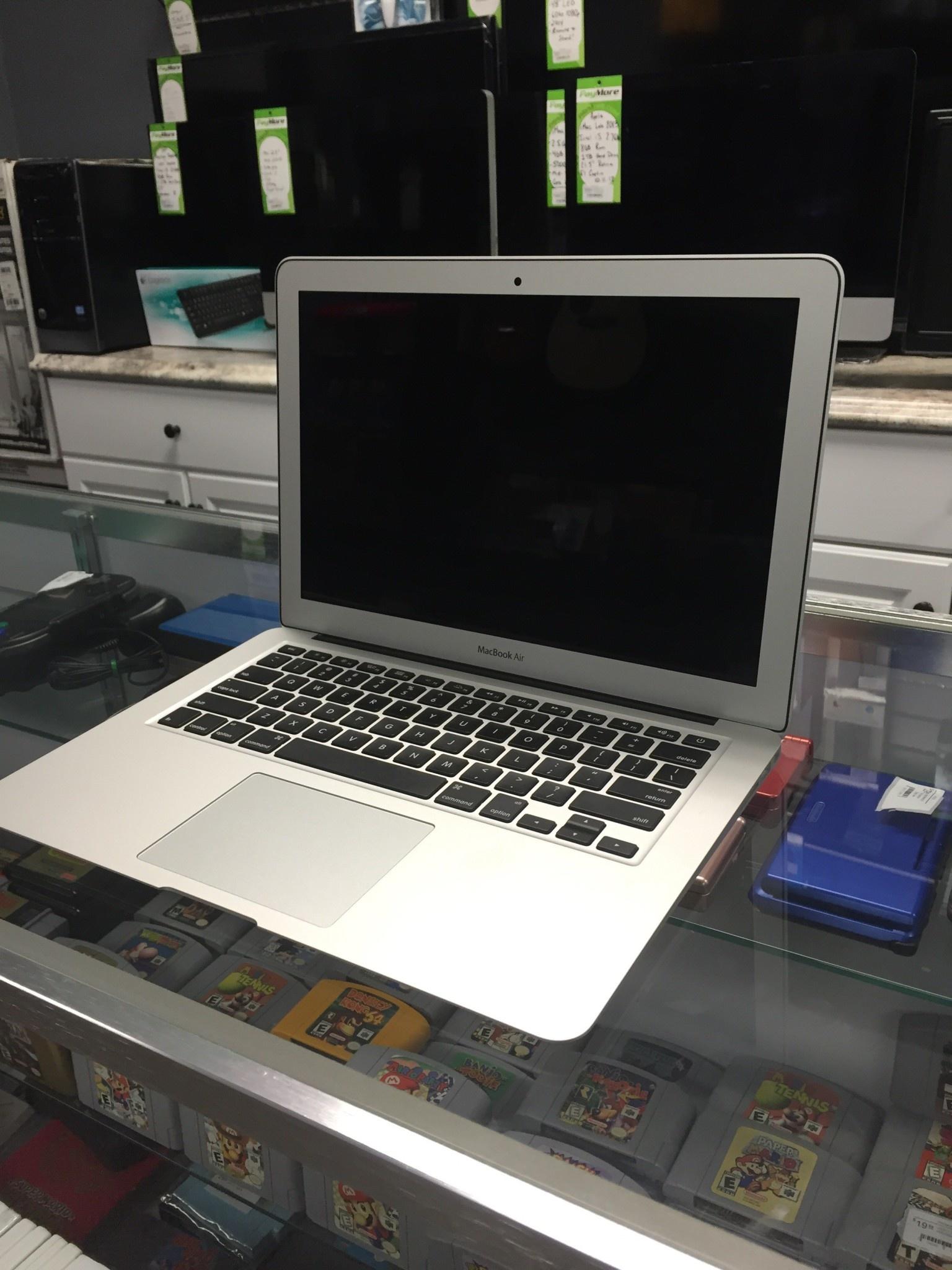 """Apple Macbook Air - 13"""" Early 2015 - Intel i5 1.6/2.7GHz - 8GB RAM - 128GB SSD"""