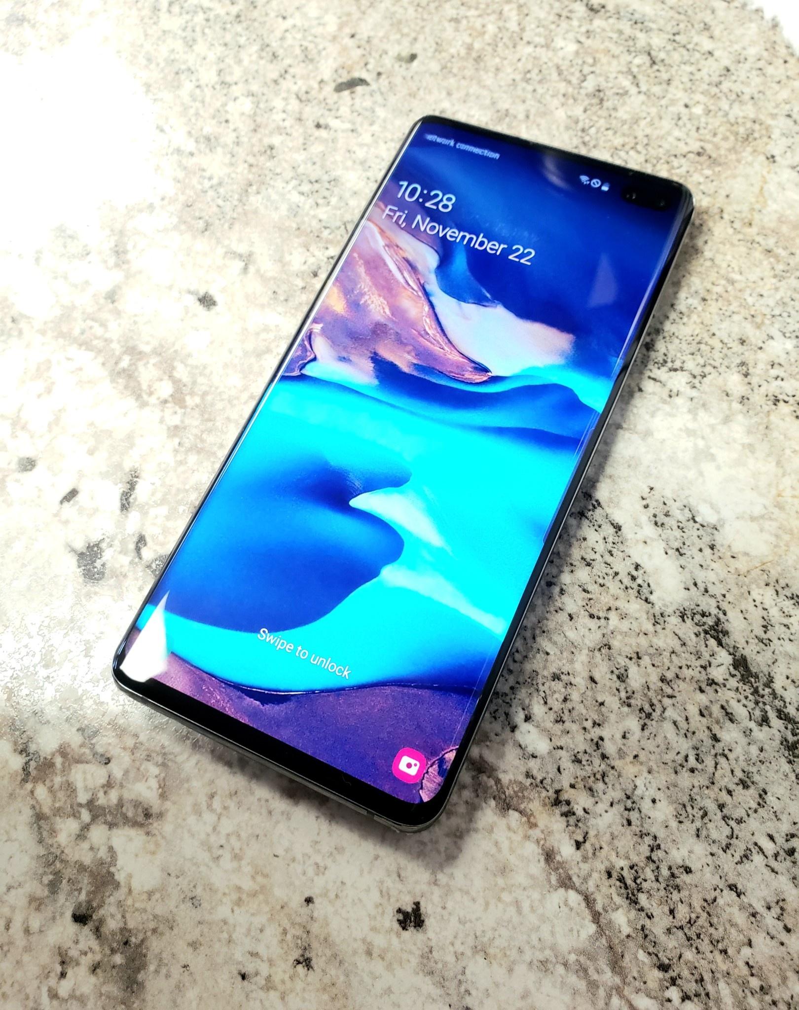 Unlocked - Samsung Galaxy S10+  - 128GB - Black