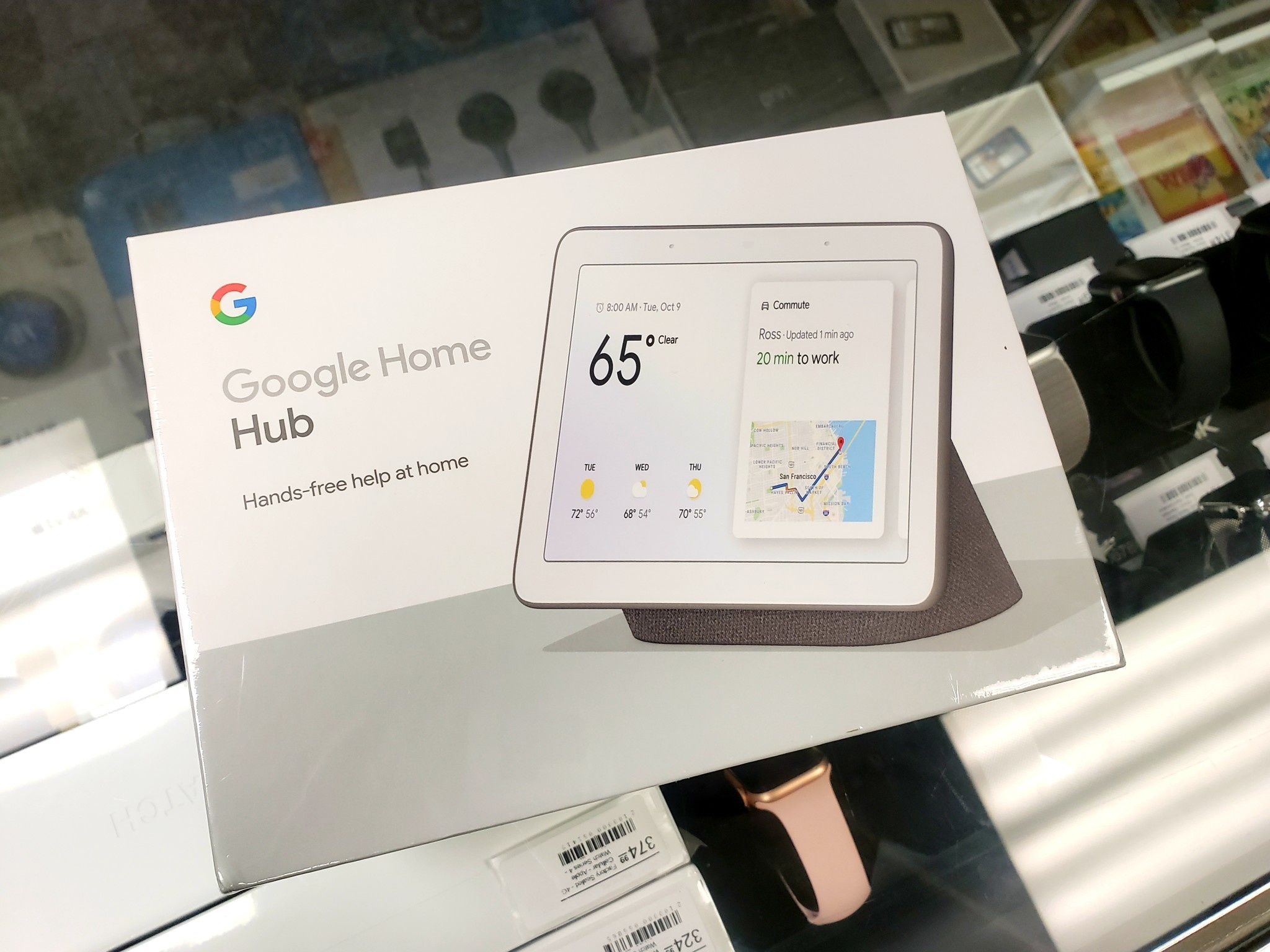 Google Home Hub - Factory Sealed