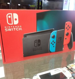 New - Nintendo Switch Console - HAC-001(01) (V2) - Red & Blue Joy-Con