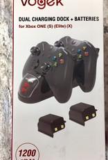 Vogek Dual Charging Dock for Xbox One (S) (Elite) (X)