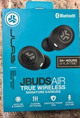 JLAB - Jbuds Air True Wireless Signature In-Ear Earbuds - Black