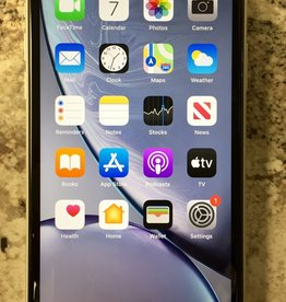 AT&T/Cricket - iPhone XR - 128GB - White