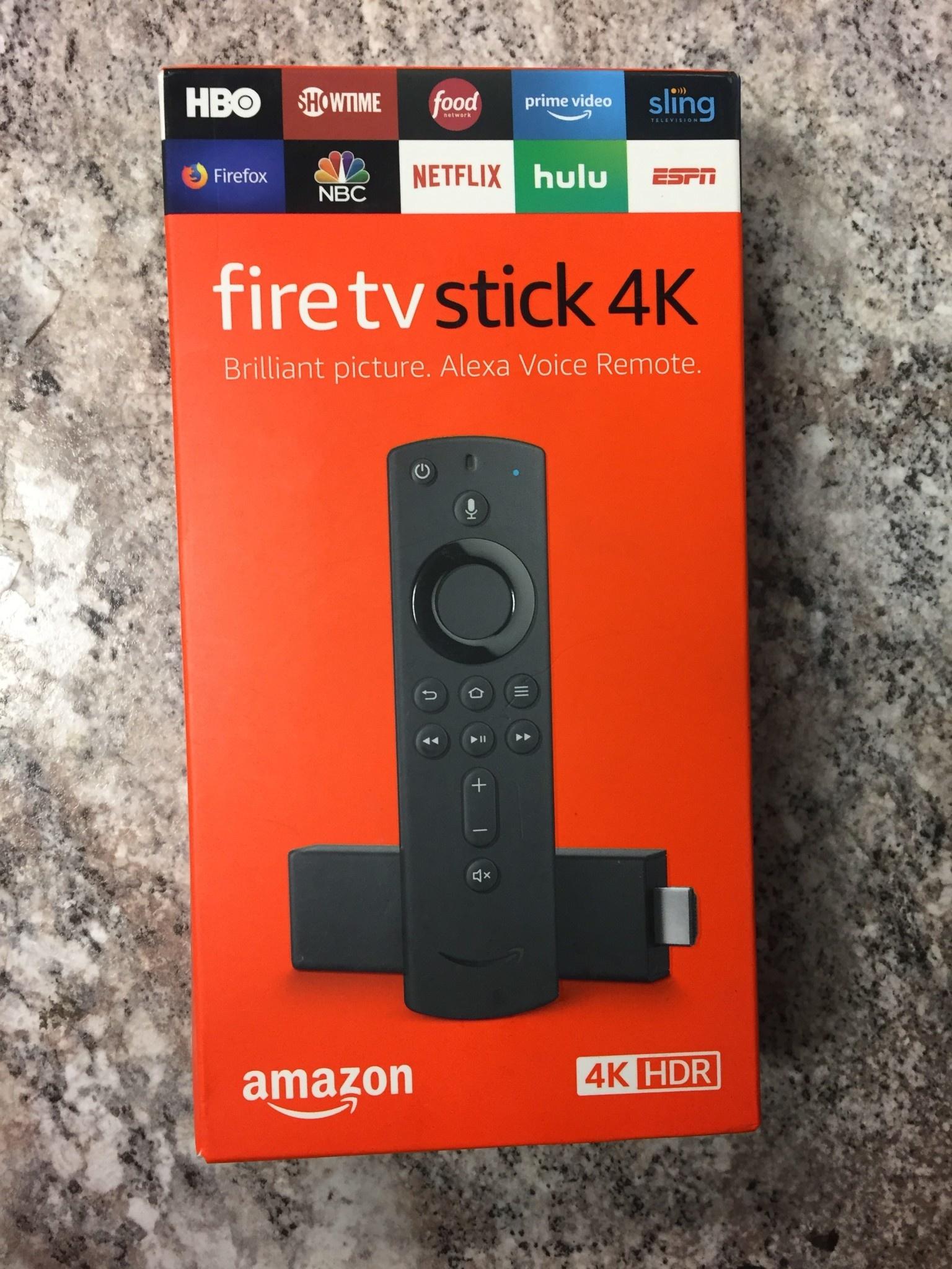 Amazon Fire TV Stick 4K HDR w/ Alexa Voice Remote