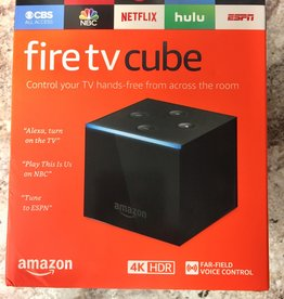 Amazon Fire TV Cube 4K w/ Alexa Voice Remote (2nd Generation) - Black