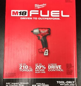 """New - Milwaukee M18 FUEL 18-Volt 3/8"""" Compact Impact Wrench - 2754-20"""