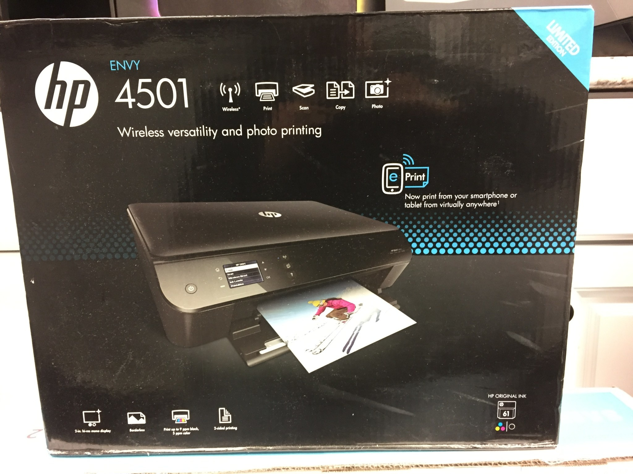 HP Envy 4501 e-All-in-One Inkjet Printer - C8D05A