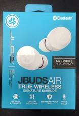 JLAB - Jbuds Air True Wireless Signature In-Ear Earbuds - White