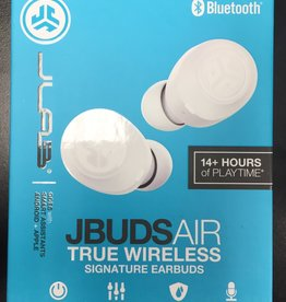 JLAB - Jbuds Air True Wireless Signature In-Ear Earbuds - White