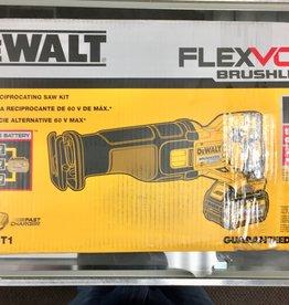 New - DeWalt DCS388T1 FLEXVOLT 60V MAX Brushless Reciprocating Saw Kit