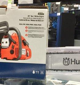 """New - Husqvarna 450e 20"""" Chainsaw - #9676512-01"""