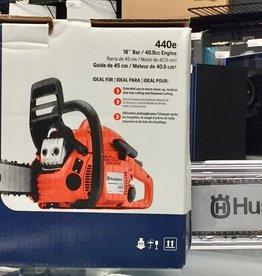 """New - Husqvarna 440e 18"""" Chainsaw - #9676509-01"""