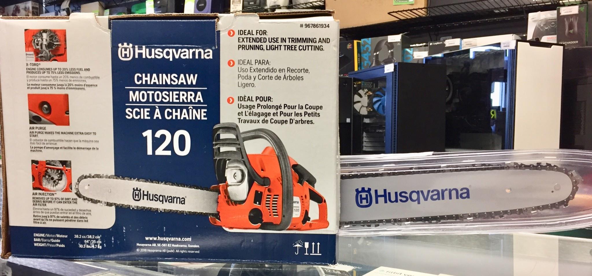 "New - Husqvarna 120 14"" Chainsaw - #967861934"