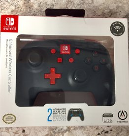 Power A Enhanced Wireless Controller - Nintendo Switch - Black