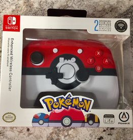 Power A Enhanced Wireless Controller - Nintendo Switch - Poke Ball