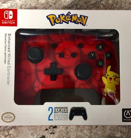 Power A Enhanced Wired Controller - Nintendo Switch - Pikachu