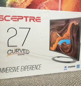 "Sceptre 27"" Curved Monitor - 1080p - 75hz - C-5W-1920R"