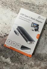 j5create USB Type-C Multi Adapter JCD383 - New in Box