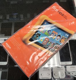 Amazon Fire HD8 Kids Edition - 32GB - Yellow - New