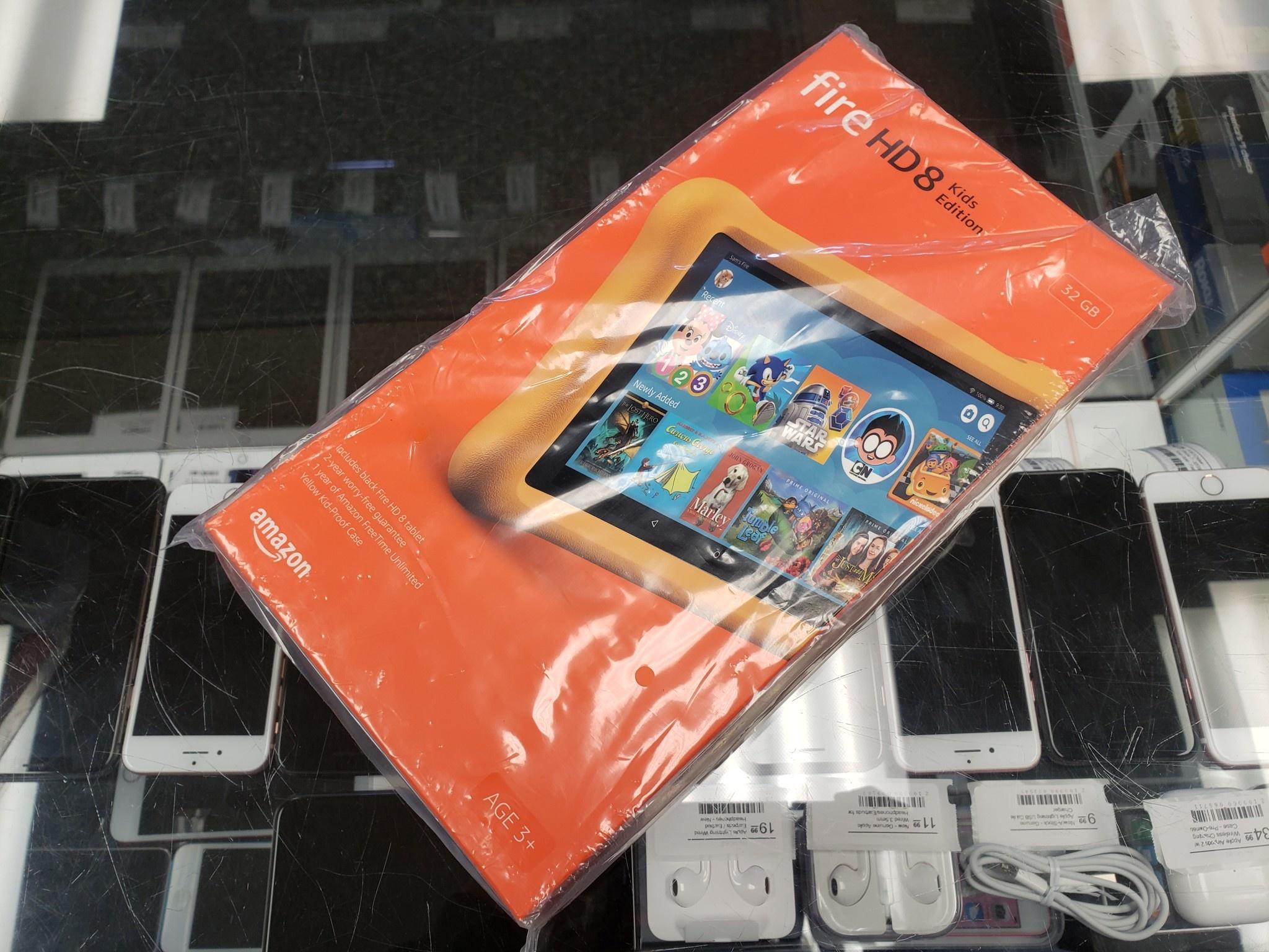 Amazon Fire HD8 Kids Edition - 32GB - Yellow - New