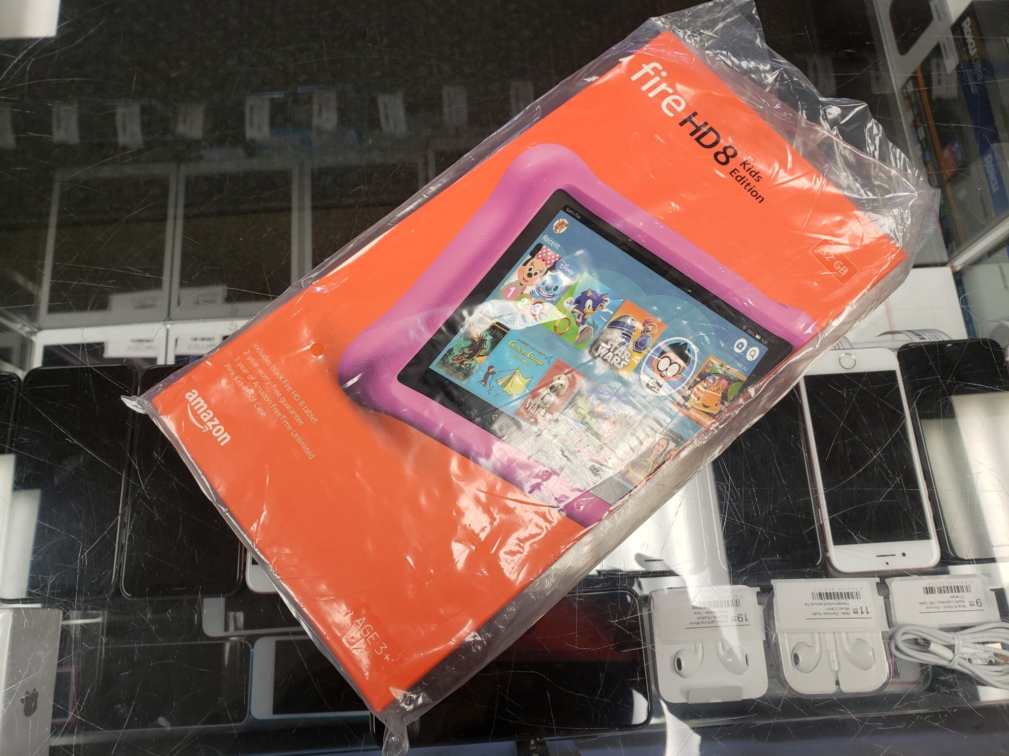 Amazon Fire HD8 Kids Edition - 32GB - Pink - New