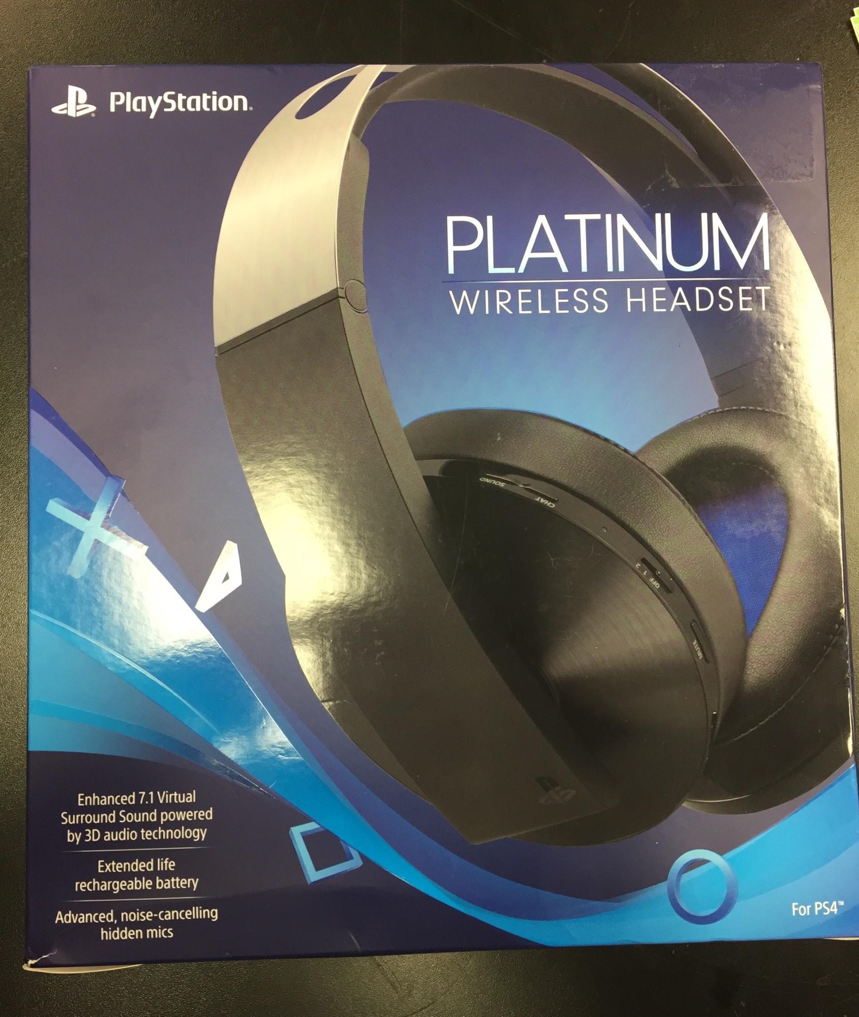 PlayStation 4 Platinum Wireless Headset - CECHYA-0090