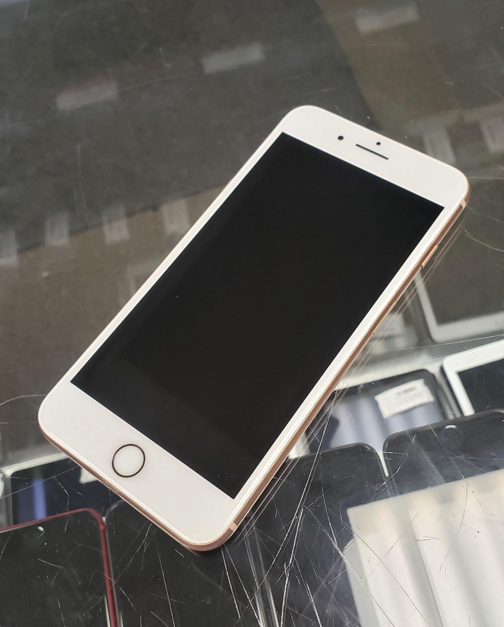 GSM Unlocked - iPhone 8 Plus - 64GB - Rose Gold - Fair Condition