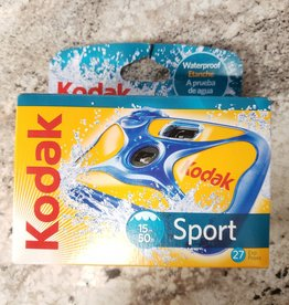 Kodak 27 Shot Waterproof Disposable Camera - New
