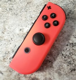Nintendo Switch Joy Con - Right (R) - Neon Red - Pre-Owned