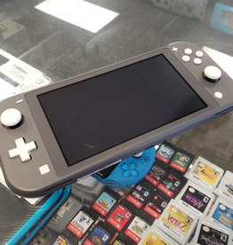 Nintendo Switch Lite - Black / Grey - Pre-Owned - Fair Condition
