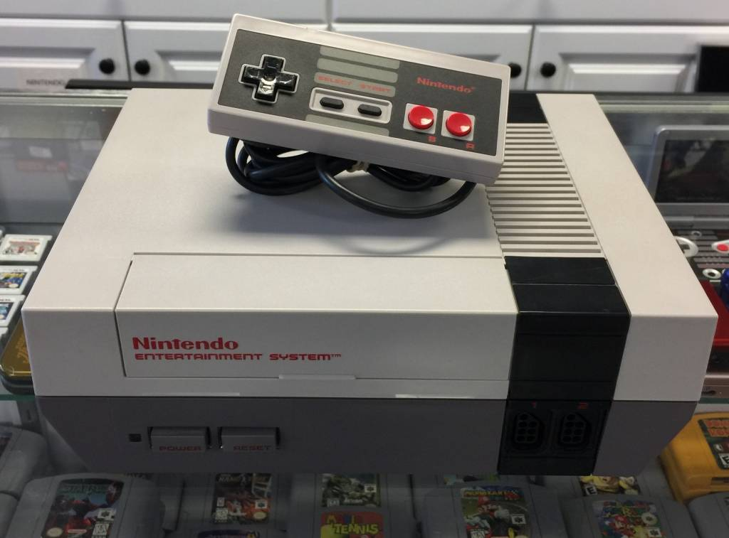 Original Nintendo NES Console System - Refurbished  | Complete - Fully Working NICE!