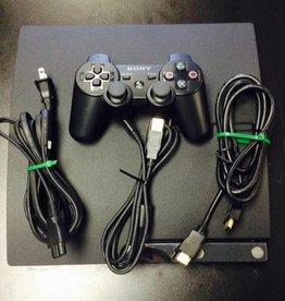 Sony Playstation 3 PS3 Slim Gaming Console - 320GB - Black