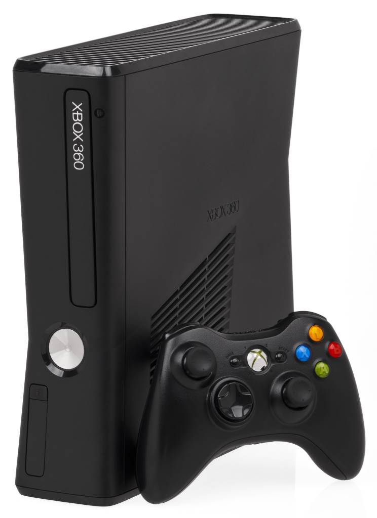 Microsoft Xbox 360 S Slim 4GB Console - Matte Black - Model 1439