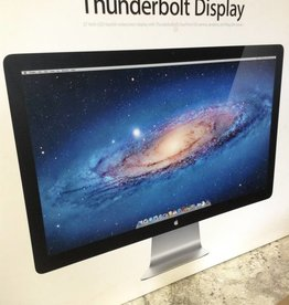 "MINT IN BOX - Apple 27"" 2011-2012 LED Thunderbolt Display High Definition MC914LL/A - 2560 x 1440 w/ Speakers & Camera"