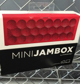 New In Box - Mini JAMBOX by Jambone Red - Bluetooth Wireless Speaker