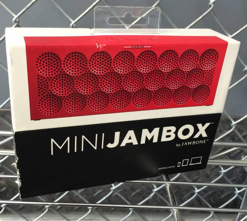 New In Box - Mini JAMBOX by Jambone Red - Bluetooth Wireless Speaker