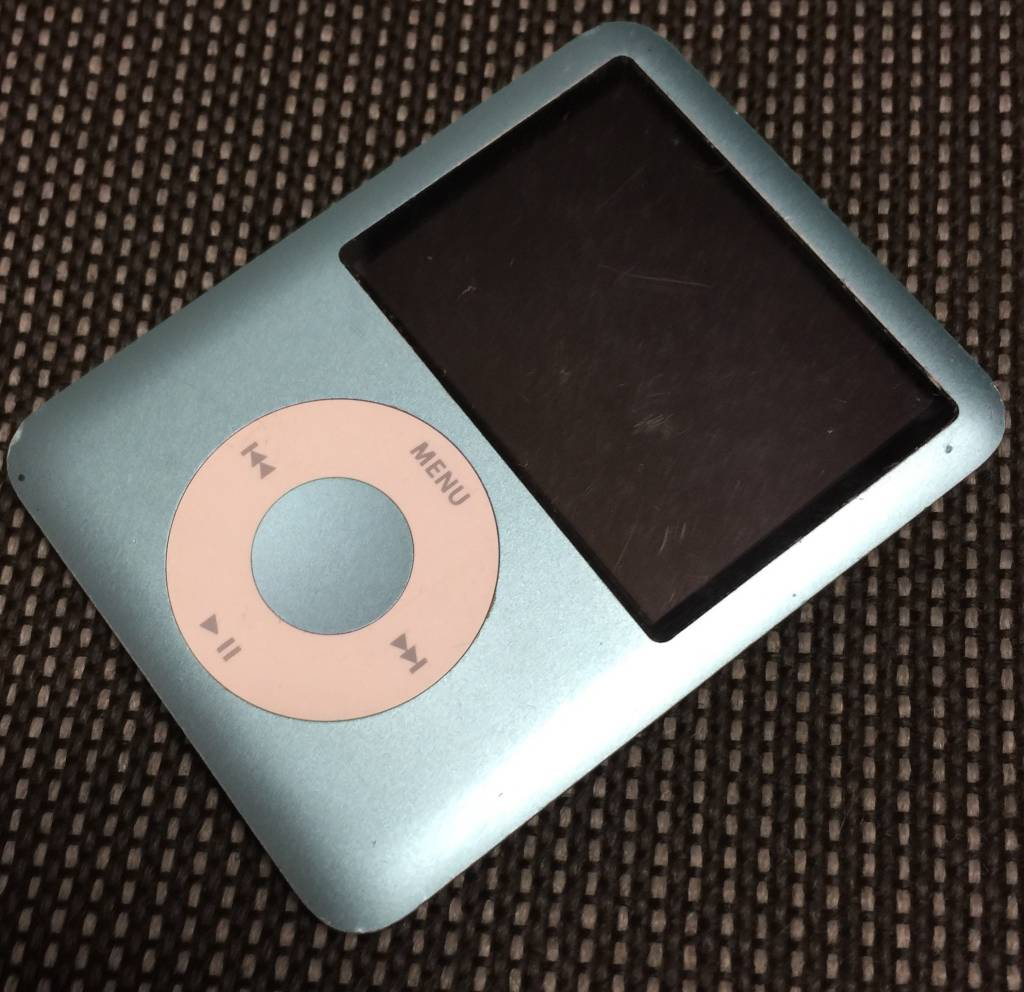 Apple iPod Nano 3rd Generation - 8GB - Blue