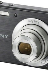 New Sony - DSC-W800 20.1-Megapixel Digital Camera - Black