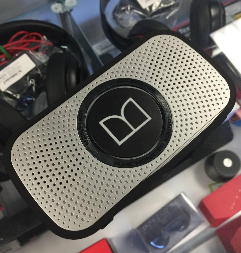 Monster Cable Superstar High Definition Bluetooth Speaker - Grey