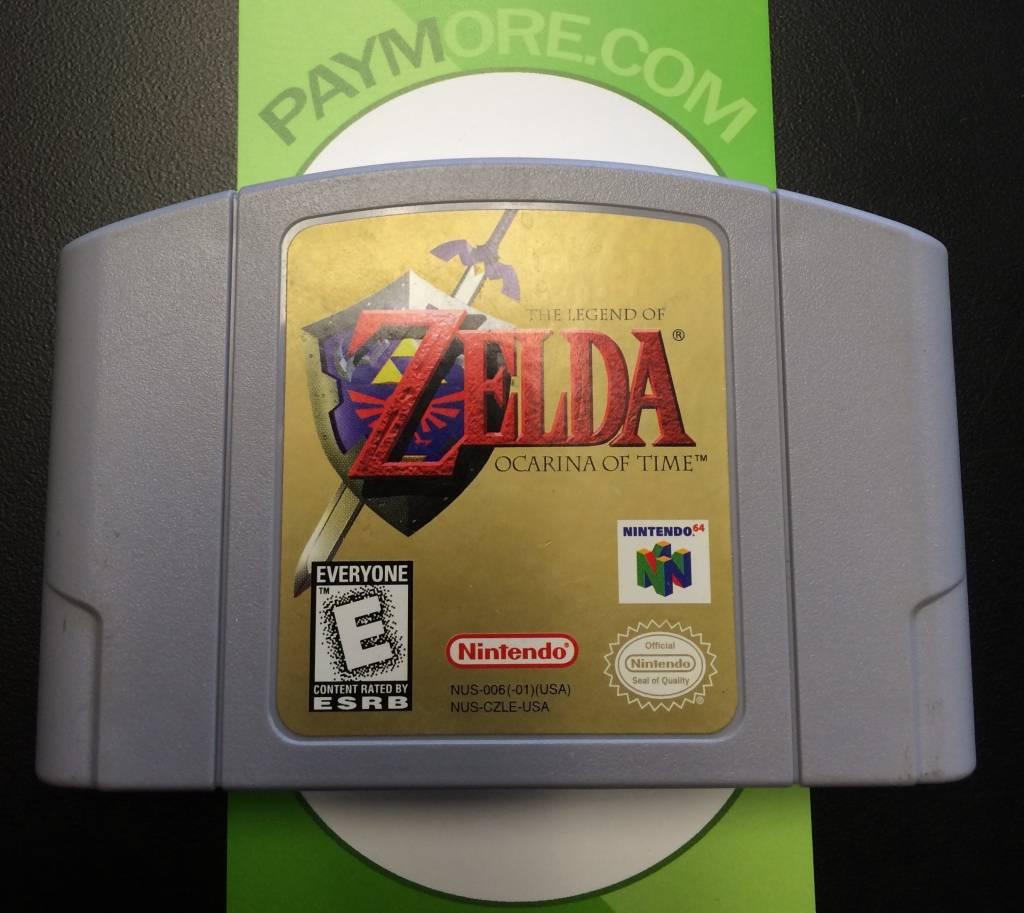 N64 - Legend of Zelda: Ocarina of Time