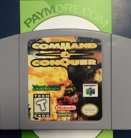 N64 - Command And Conquer