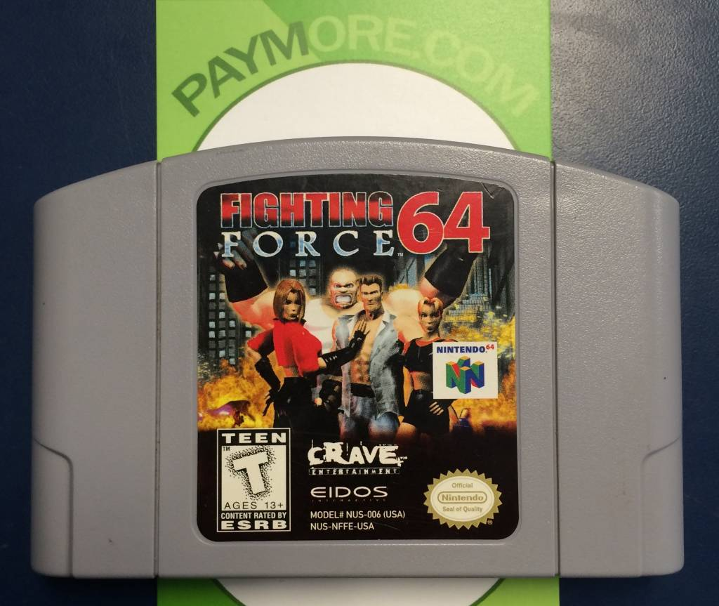 N64 - Fighting Force 64