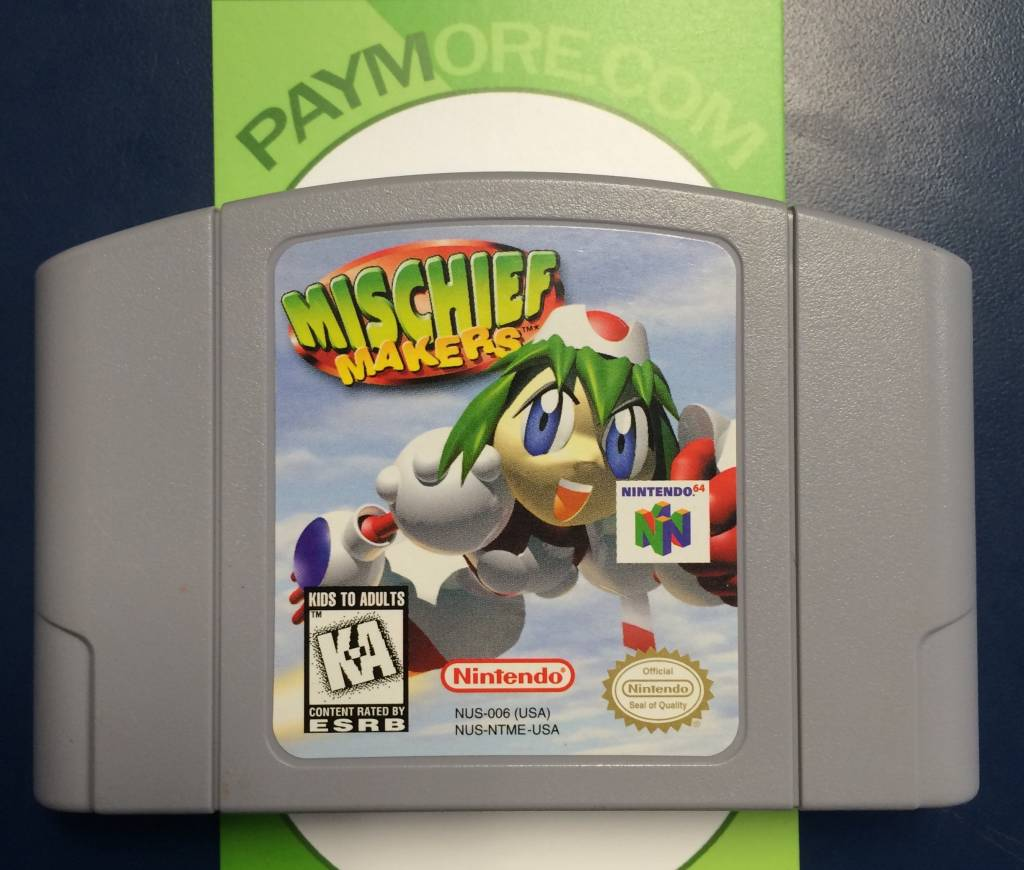 N64 - Mischief Makers