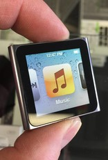 Apple iPod Nano 6th Generation 8GB Touchscreen Clip iPod - Silver - Excellent!